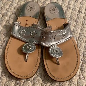 Silver Jack Rogers size 4